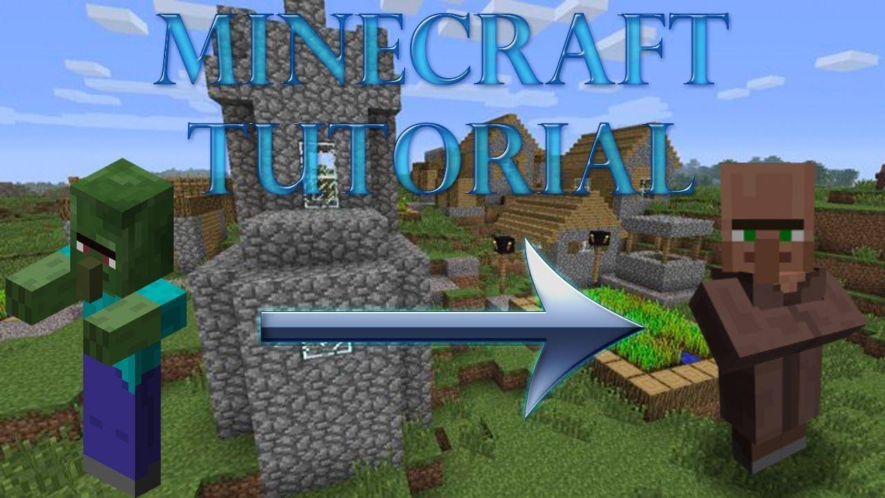 Minecraft zombie villager heilen