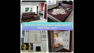 House tour- wall bed, wall dinning table & lot more