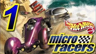 Let's Play Hot Wheels: Micro Racers, ep 1: Take 2