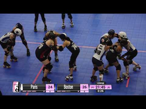 WFTDA Roller Derby - Division 2, Pittsburgh - Game 30 - Boston vs. Paris