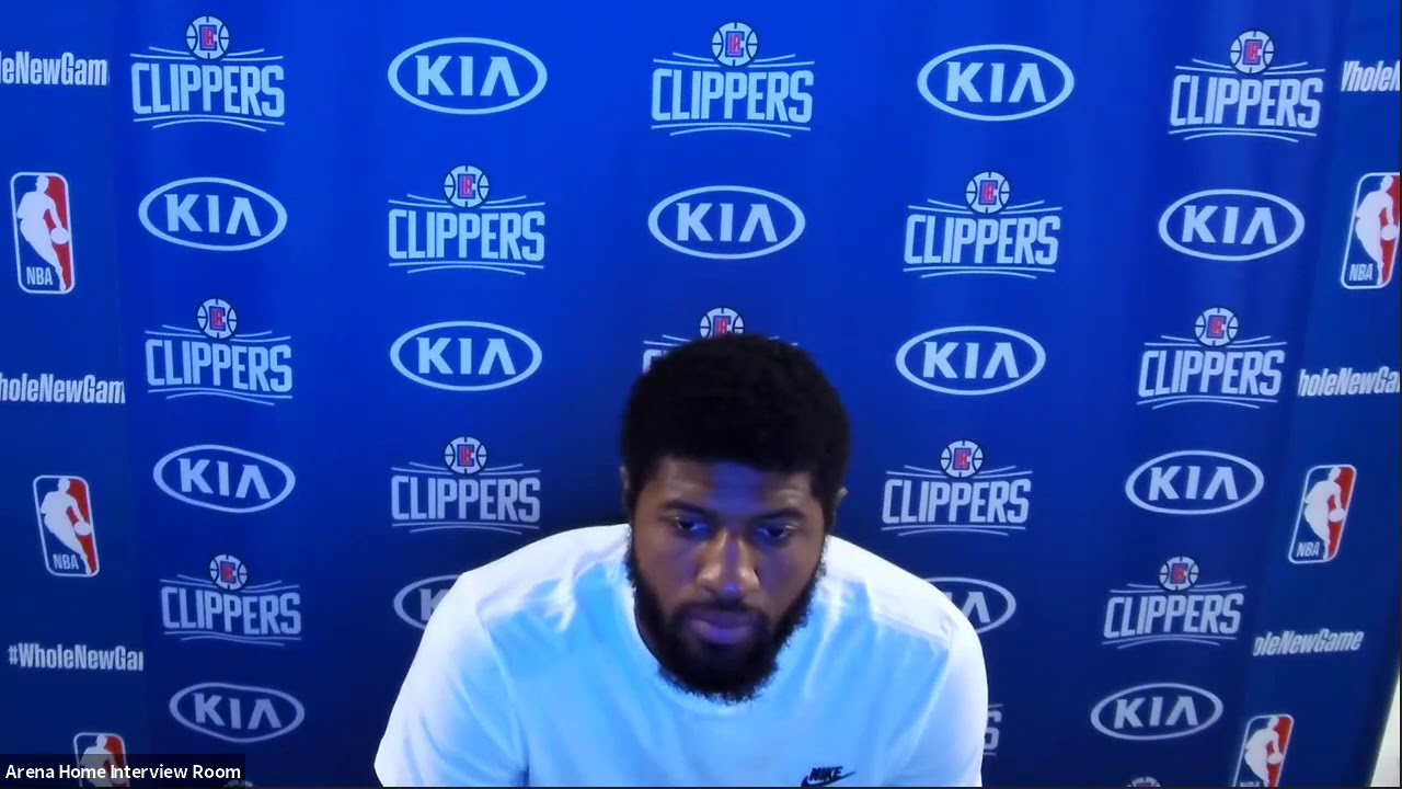 Paul George Full Postgame Interview | Magic vs Clippers | July 22, 2020