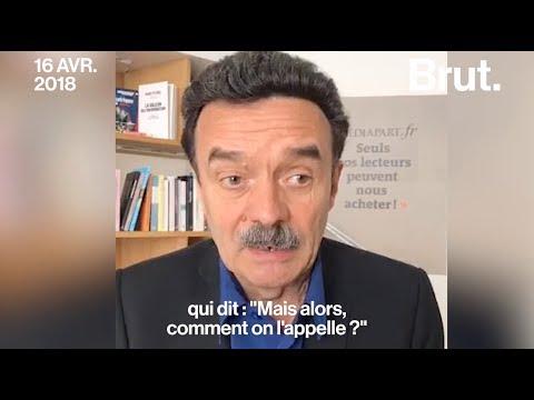 """Edwy Plenel explique pourquoi il n'a pas appelé Emmanuel Macron """"monsieur le président"""""""