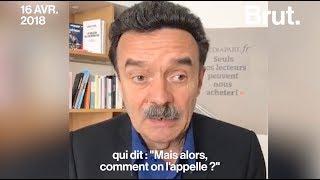 Edwy Plenel explique pourquoi il n'a pas appelé Emmanuel Macron