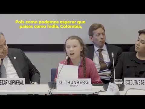 Greta Thunber, 15 anos, passa um pito nos líderes mundiais na COP 24