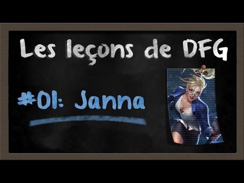 GUIDE JANNA - Joue comme DFG & Gorilla ! - Les leçons de DFG #01