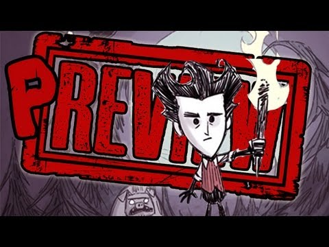 DON'T STARVE PREVIEW (Smosh Games Review)
