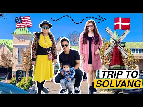 BIRTHDAY VLOG | TRIP TO SOLVANG (Stop over in Denmark