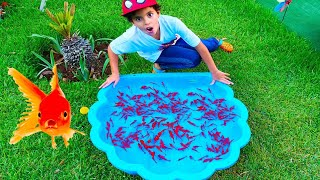 sami he found fish - ADEL ET SAMI