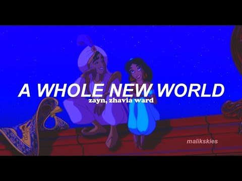 Zayn, Zhavia Ward - A Whole New World (Traducida Al Español)
