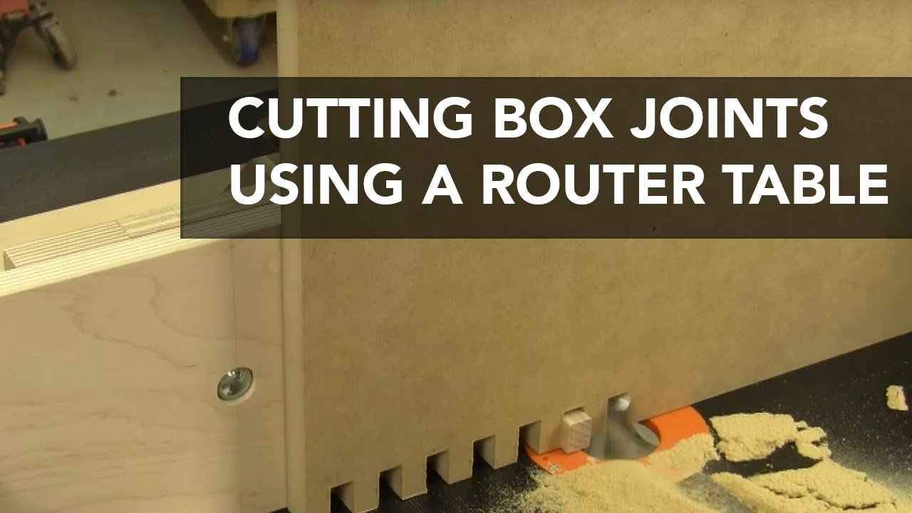 router joints. router joints