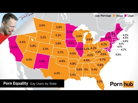 You'll Never Guess Which States View The Most Gay PornKaynak: YouTube · Süre: 5 dakika32 saniye