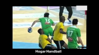 بعض أهداف لاعب المنتخب ساكر رضوان في كاس إفريقيا لكرة اليد بمصر