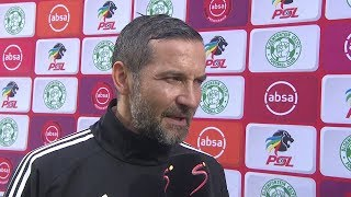 Absa Premiership | Bloem. Celtic v Orlando Pirates  | Post-match interview with Josef Zinnbauer