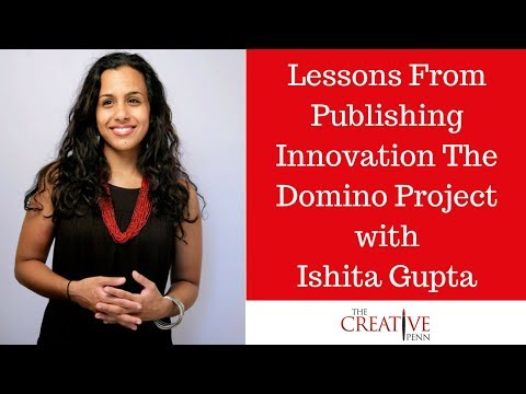 Lessons From Publishing Innovation The Domino Project With Ishita Gupta