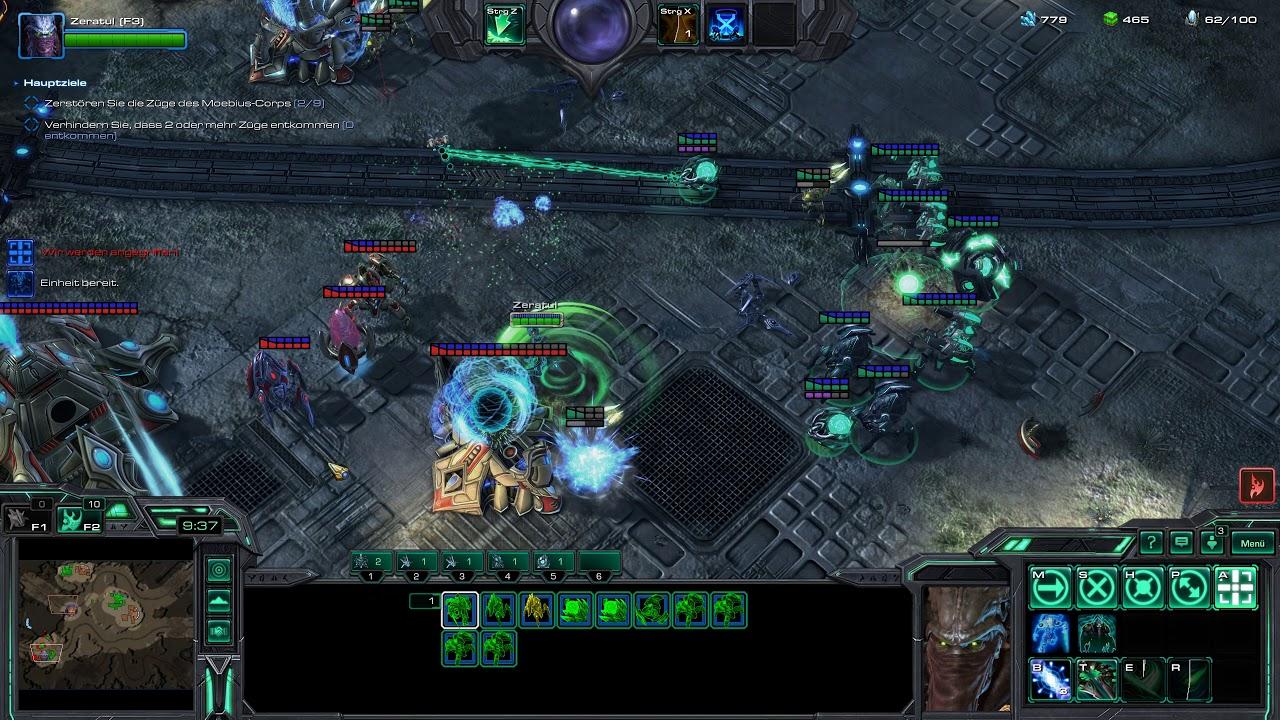 Starcraft 2 Coop Brutal Random Leveling (4K)