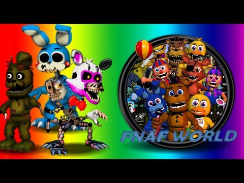 how to put Mods in Fnaf World (Tutorial)