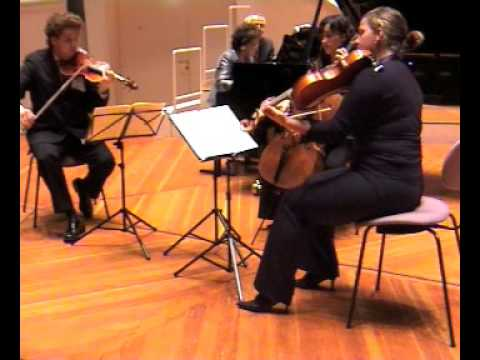 W.A.Mozart Klavierquartett gmoll 2.Satz Victoria Bragin