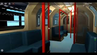 Roblox London Underground 1992 Stock Showcase [UPDATE] Just a Short Look