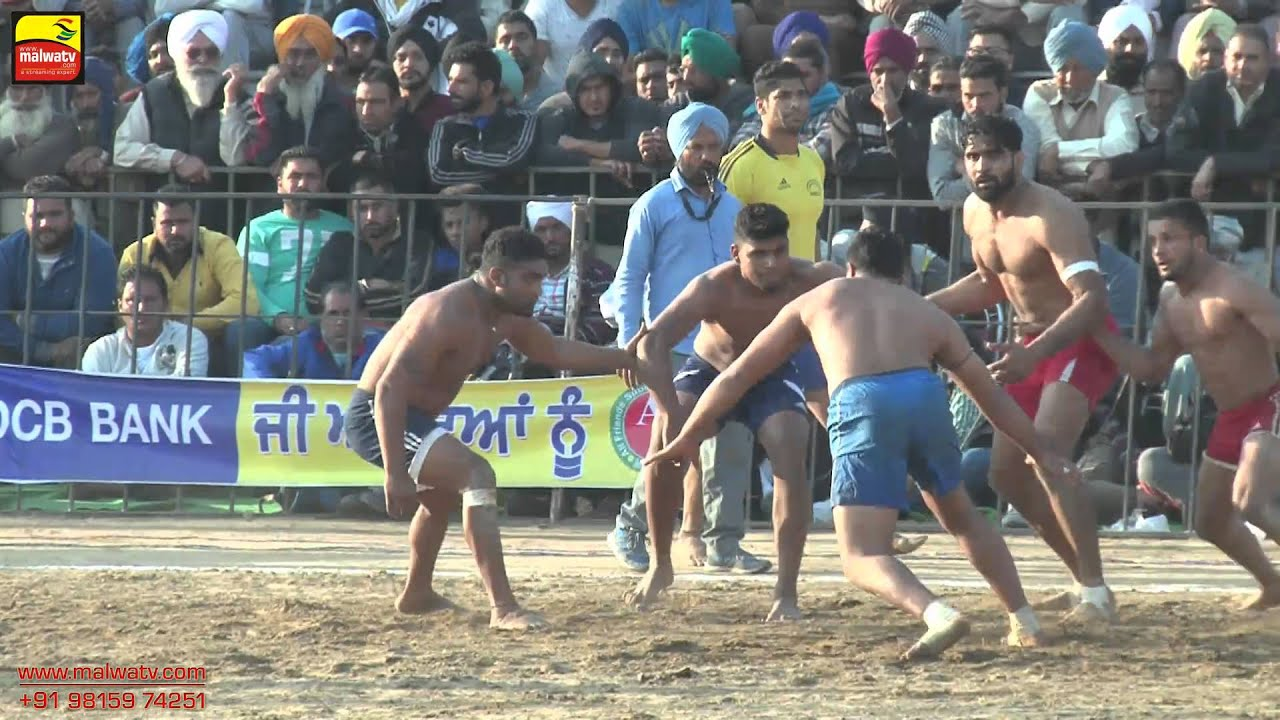 JAGRAON (Ludhiana) || KABADDI CUP - 2015 || OPEN PRELIMINARY ROUNDS || Part 4th.