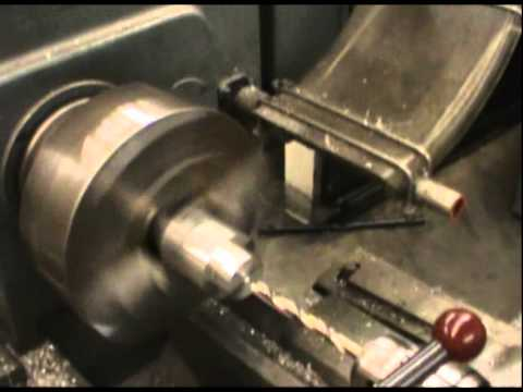 Model Wind Turbine Nacelle Machining