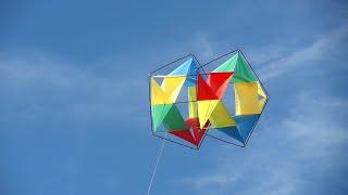 Kaleidoscope A Homemade Facet Box Kite