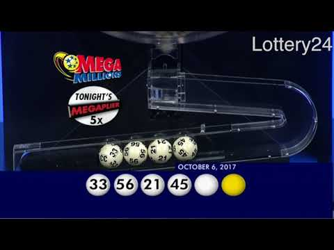 2017 09 06 Mega Millions Numbers and draw results