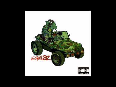 Gorillaz- Man research(Hippyshade45)