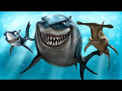 Full download how to draw bruce the shark from finding nemo for Tiger strike fish game cheats