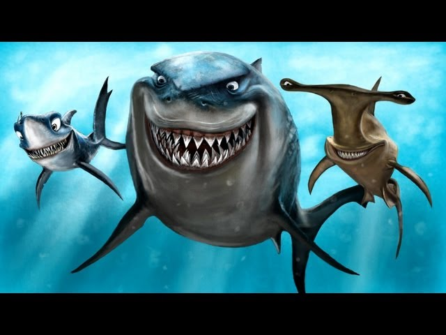 SHARK ATTACK SPEED PAINTING