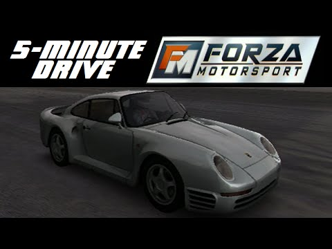 5 Minute Drive Forza Motorsport 1986 Porsche 959 Youtube