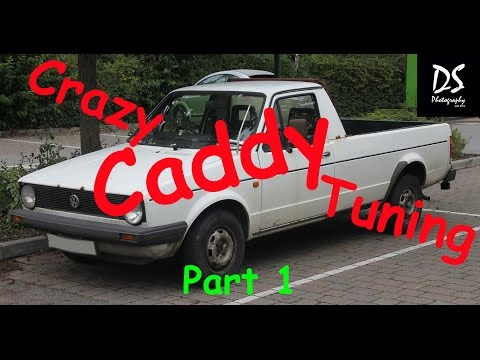 Photoshop CC – Virtual Car Tuning – VW Caddy Part 1
