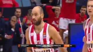 Vassilis Spanoulis 8 pts 7 as (Khimki-Olympiacos 66-87)