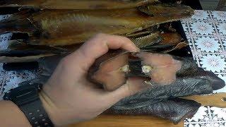 Балык из рыбы,классический способ приготовления настоящего копчёного  балыка из красной рыбы