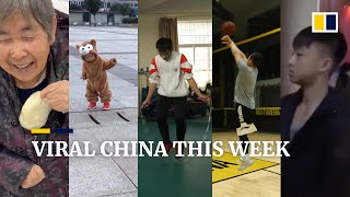 Viral China this week: Grandma's adorable 'food delivery' for grandson, and more