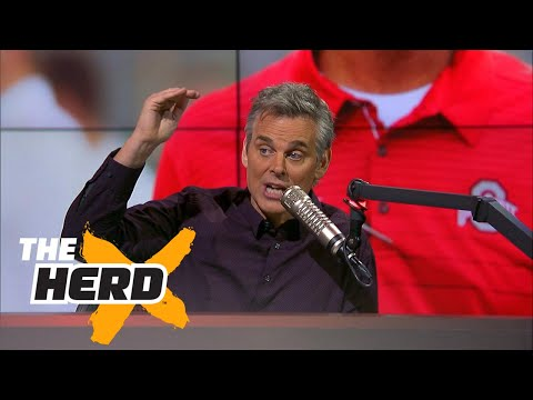 Colin reveals why the Big Ten is a better college football conference than the SEC | THE HERD