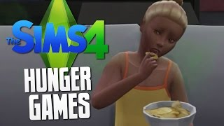 The Sims 4 - THE HUNGER GAMES - The Sims 4 Funny Moments #19