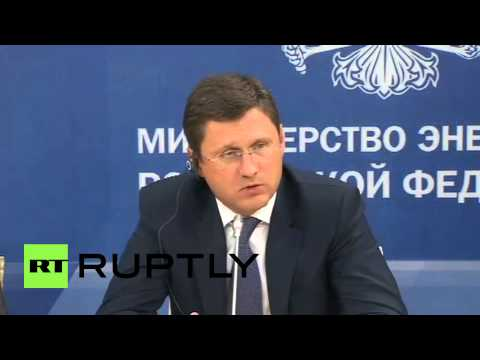Russia: 'The EU won't sanction gas, it is not a political tool,' EU energy chief Oettinger