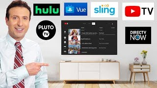 BEST LIVE TV STREAMING SERVICE (HONEST REVIEW) - YouTube TV, Hulu Live, Sling, DIRECTV NOW, PS VUE