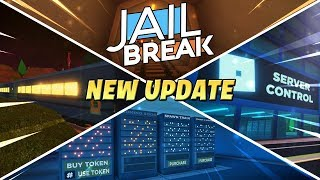 Roblox Jailbreak Live! 🔴| NEW TRAIN Robbery UPDATE!🚂| Server Control!| Battle Royal Game-mode!