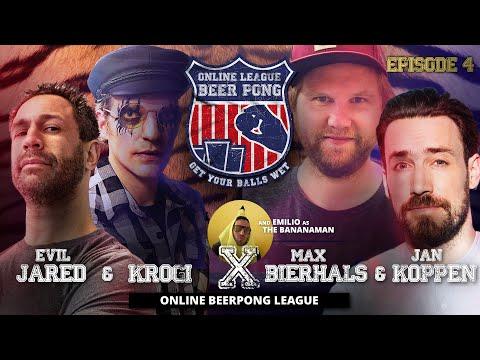 Online Beer Pong EP. 04 Jan Köppen & Max Bierhals vs. Evil Jared & Krogi