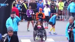 Départ Marathon du Beaujolais 2017
