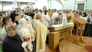 Oсвячення церкви Святого Апостола Юди Тадея. ч.4
