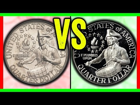 SITTING ON A GOLD MINE!?? THESE RARE QUARTERS ARE WORTH MONEY FROM 1976