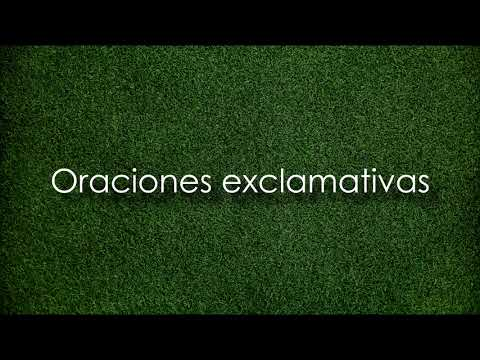 Oraciones Exclamativas E Interrogativas Youtube