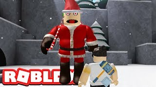 FLEE THE EVIL SANTA CLAUS / Roblox / Flee The Facility