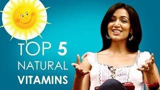 Top Five Natural Vitamins & Supplements
