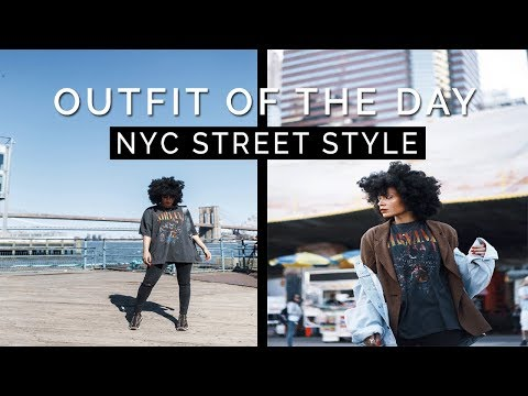 OUTFIT OF THE DAY - NYC Street Style  📍South St. Seaport
