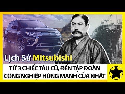 Lịch Sử Mitsubishi