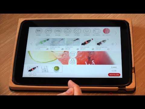 E-Menu OktoPOS Sushi Factory 2015 - 4K