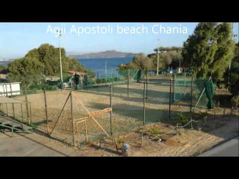 Beautiful Cretan sandy Beach Agii Apostoli Chania